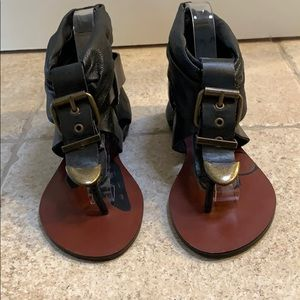 Dolce Vita Buckled Sandals in Size 6